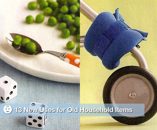 13 New Uses For Old Household Items