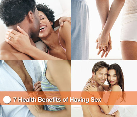 7 Health Benefits of Having Sex