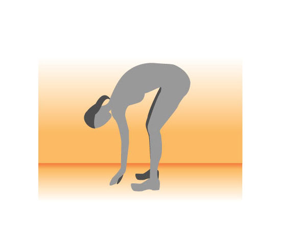 Hang-Over Hamstring Stretch