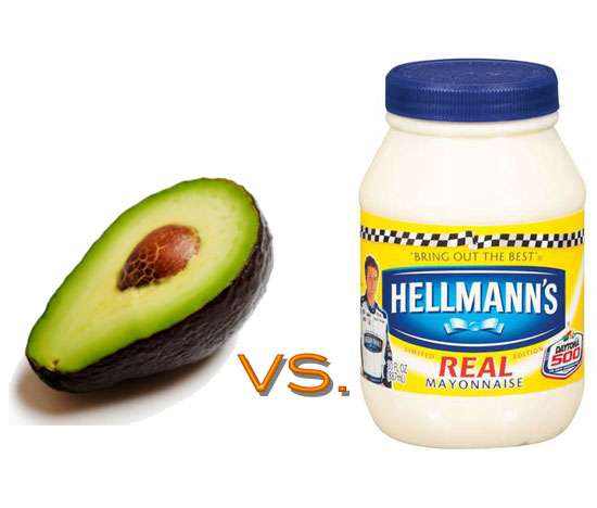 Avocado vs. Mayonnaise