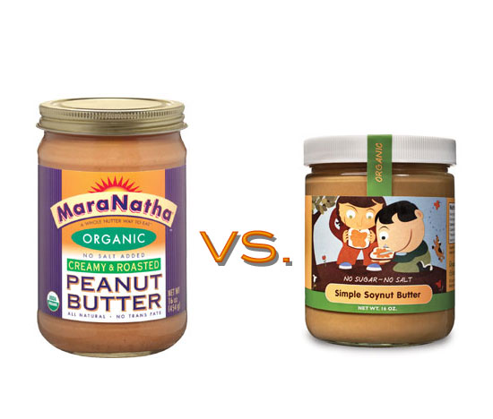 Peanut Butter vs. Soynut Butter