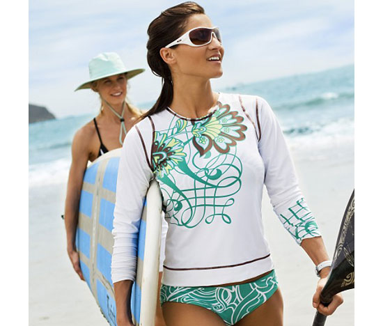 Summer Fun Rash Guard by Athleta