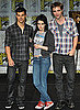 Photo of Twilight Cast Members Kristen Stewart and Robert Pattinson and Skinny Jeans Exercise Class