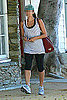 Eva Mendes Leaving Gym