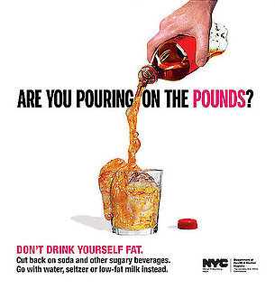 New York Department of Health New Ad Campaign: Don't Drink Yourself Fat