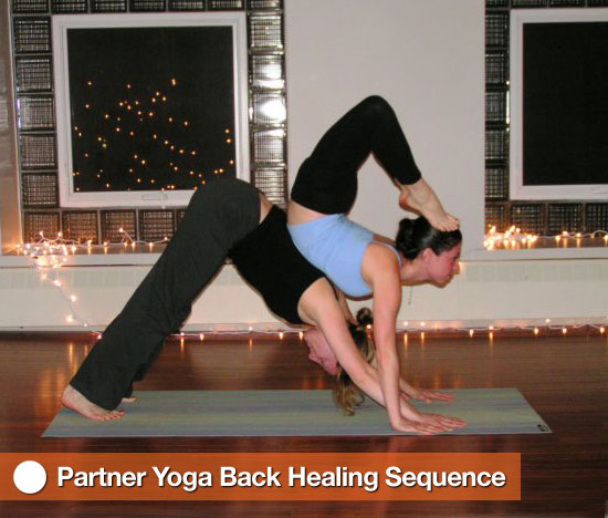 Partner Yoga Back Healing Sequence