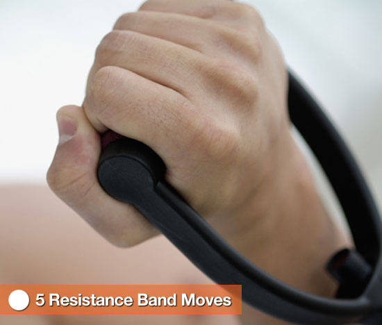 5 Resistance Band Moves