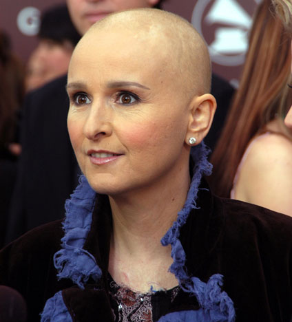 "In 2005, Melissa Etheridge recalled finding a lump that was breast cancer:  ""It was alarming because I hadn't seen it the day before. And I didn't quite understand what it was."""