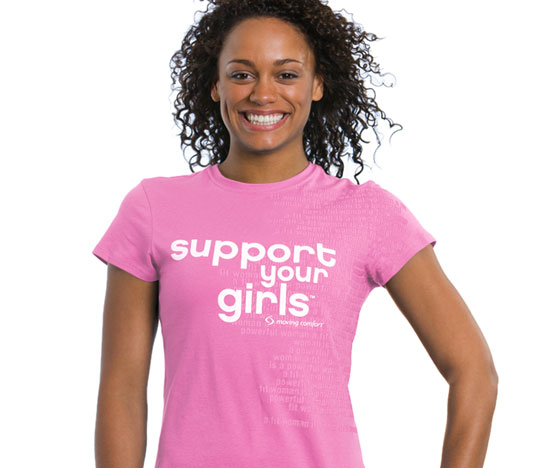 Get Pink and Sporty For the Cure