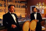 Bond's martinis taste best when they're shaken at a bar with gold chandeliers. Source