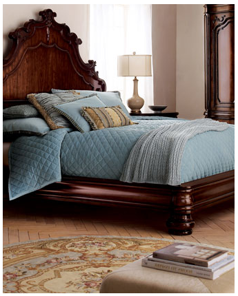 Distract visitors from your understanding of international politics with the Juliana Bed ($1,359).
