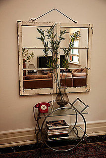 Cool Idea: Cabinet Door Mirror