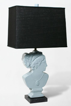 Happy-go-lucky Jonathan Adler is one of the biggest faces in the interior design world. How about bringing the face of another deity into your home with his Goddess Lamp ($346, reduced from $495)?