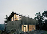 Head to Sweden to check out this barn-style prefab home.  Source
