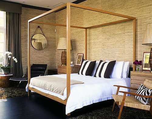 Get the Look: A Balanced, Masculine Bedroom