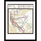 In 1972, renowned Italian designer Massimo Vignelli redesigned the New York City subway map, earning it a spot in the MoMA Collection, where it is still beloved by design geeks and subway enthusiasts today. Why not add a print of the map to your own art collection? Pick one up at the New York Transit Museum Store for $30.