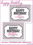 Download and print these cute birthday cards.