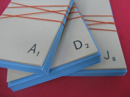 Pick out some custom Scrabble stationery ($12) for your next spate of letter writing.
