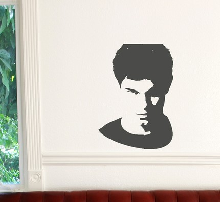 Are you on Team Jacob? Stick him to your wall with this wall decal ($8).