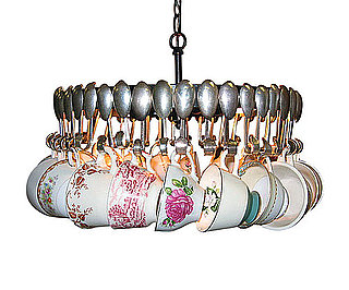 Love It or Hate It? Antique Spoon Chandelier With Tea Cups