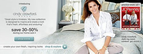 Sale Alert:  Cindy Crawford Style 30 to 50 Percent Off