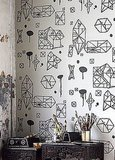 Nama Rococo's Random Geometry ($126) features prismatic, doodle-esque graphics with a very urban look.
