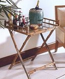 Get your own bar cart with this Kailua Bamboo Butler's Tray ($261).