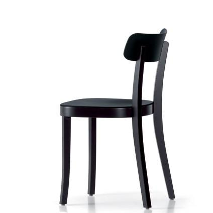 The chairs are a close match to the Jasper Morrison Basel chair ($495), a favorite of mine.