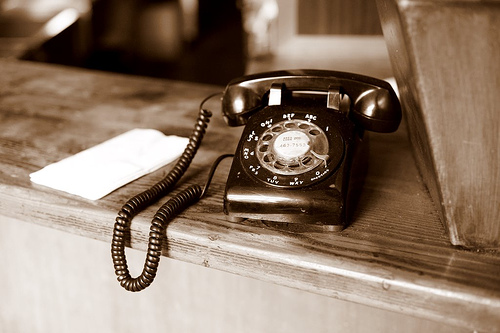 Decorating With Rotary Phones
