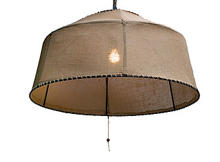 Desire/Acquire: Burlap Chandelier