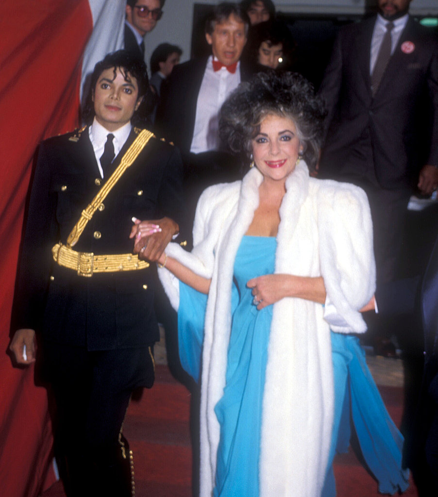 Escorting Elizabeth Taylor