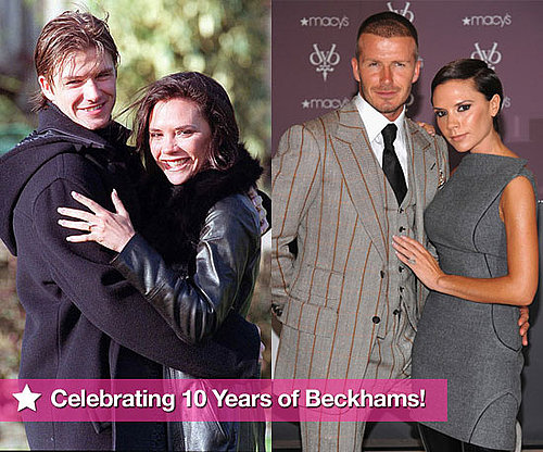 Extensive Photo Gallery of David and Victoria Beckham Through the Years For Their 10th Wedding Anniversary