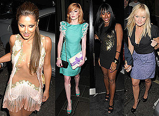 Photos of Cheryl Cole's Birthday Party With Ashley, X Factor Team and Girls Aloud