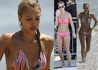 Photos Of Katy Perry In A Pink Bikini In Miami and Jessica Alba In A Bikini On Malibu Beach With Cash Warren