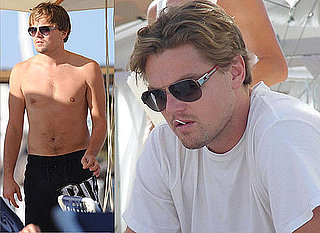 Photos Of Sexy Shirtless Leonardo DiCaprio Out On The Beach In Ibiza
