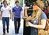 Photos Of Hilary Duff On Gossip Girl Set As Well As Blake Lively And Her Puppy Penny, Chace Crawford, Penn Badgley