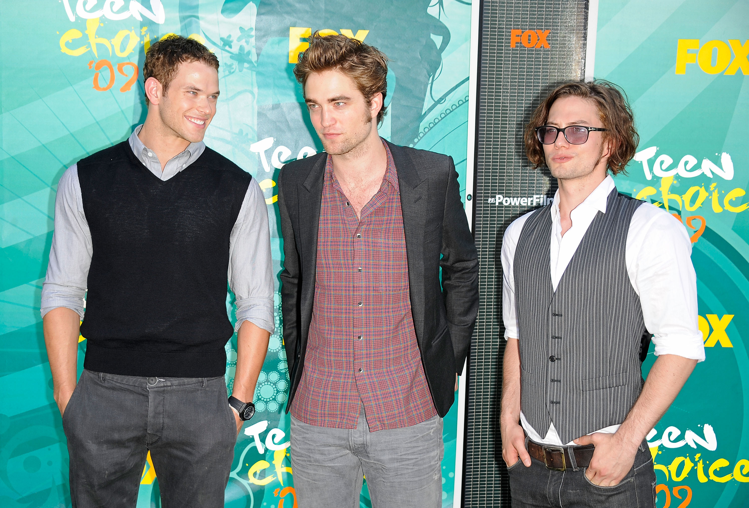 Kellan Lutz, Robert Pattinson, Jackson Rathbone