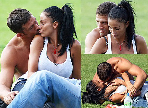 Photos of Jordan aka Katie Price Kissing Alex Reid on Day Out With Childen