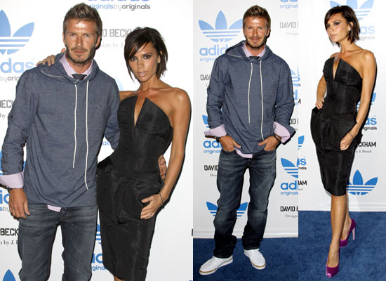 Photos of Victoria Beckham and David Beckham