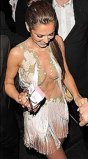 Cheryl Cole See Through Dress, Cheryl Cole Dress