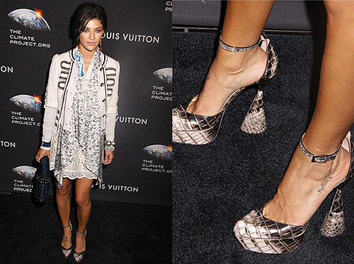 Photos of Jessica Szohr at Louis Vuitton Party