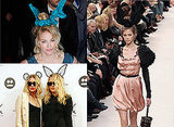 Bunny Ears on Olsen Twins, Madonna and Louis Vuitton Catwalk