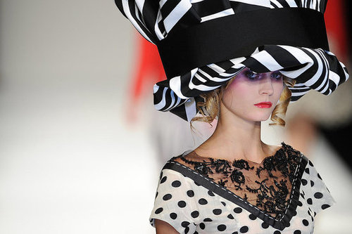 Photos of Kinder Aggugini at 2010 Spring London Fashion Week