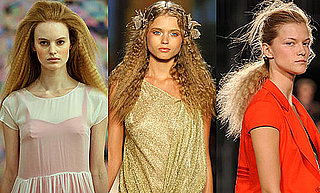 Crimped Hair, Spring 2010 Crimped Hair, Crimped Hair New York Fashion Week, Crimped Hair Fashion Week