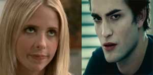 Grab Bag: Buffy and Edward Sitting in a Tree...