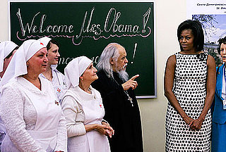 Oh Snap! Michelle Obama Visits Orphanage in Moscow