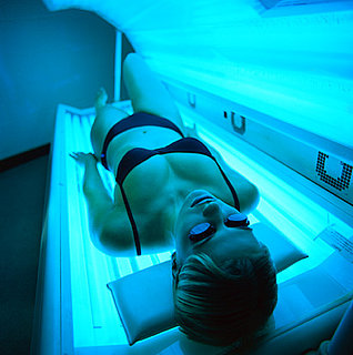 Front Page: Tanning Beds Elevated to Highest Cancer Risk