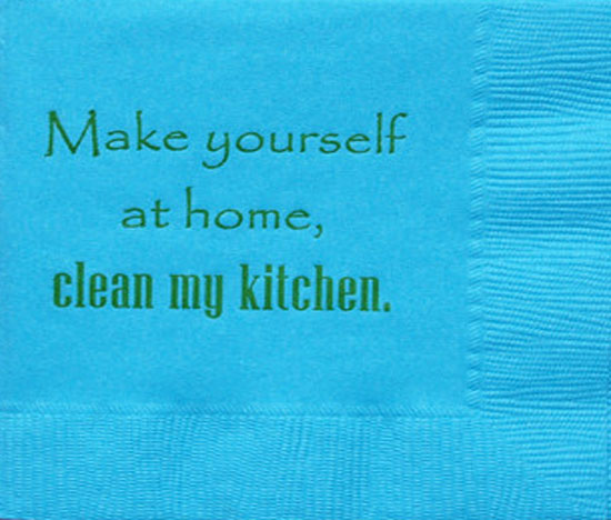 Make Yourself at Home, Clean My Kitchen