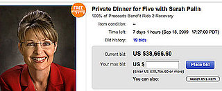 Bid on eBay to Have Dinner With Sarah Palin!