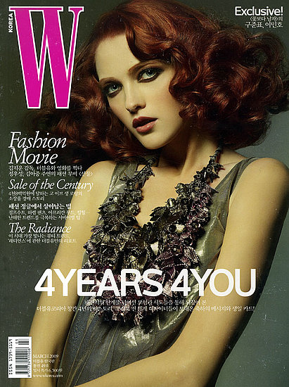 Vlada Roslyakova does W Korea-march 09